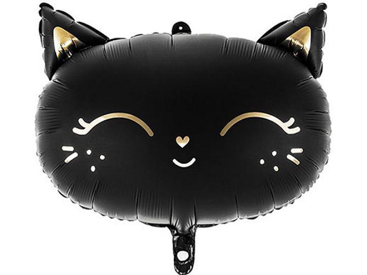 Folienballon Katze schwarz
