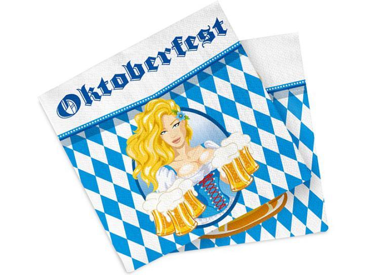 Servietten Oktoberfest 20 Stk.