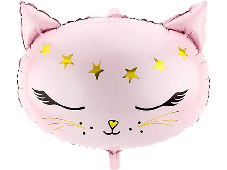 Folienballon Glossy Cat 50 x 40 cm