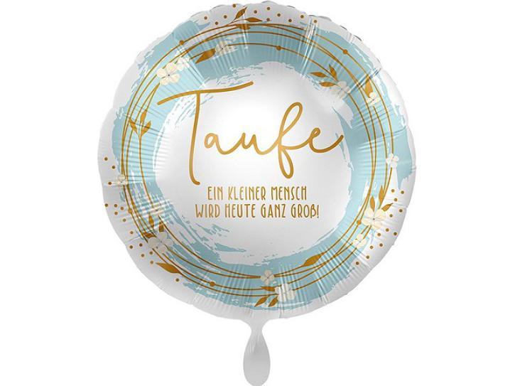 Folienballon Taufe Boho 43 cm