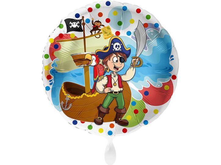 Folienballon Pirat 43 cm