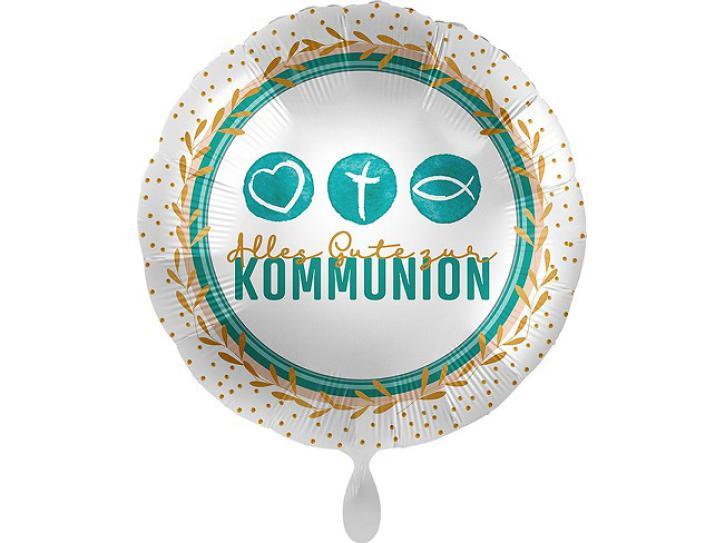 Folienballon Kommunion Symbol 43 cm