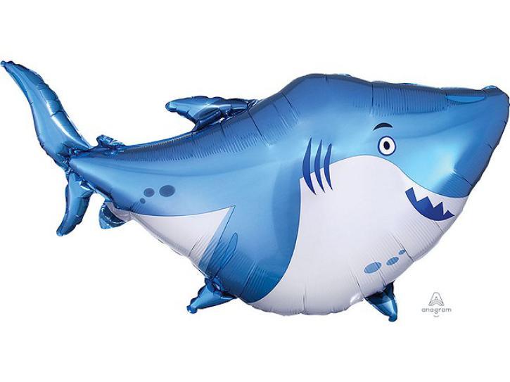 Folienballon Hai Shark 101 x 81cm
