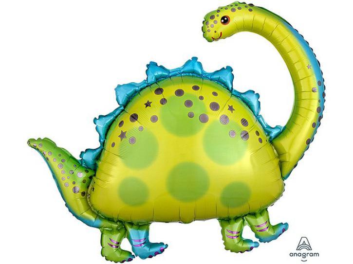 Folienballon Dino Brontosaurus 81cm
