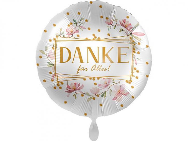 Folienballon Danke für Alles 43 cm