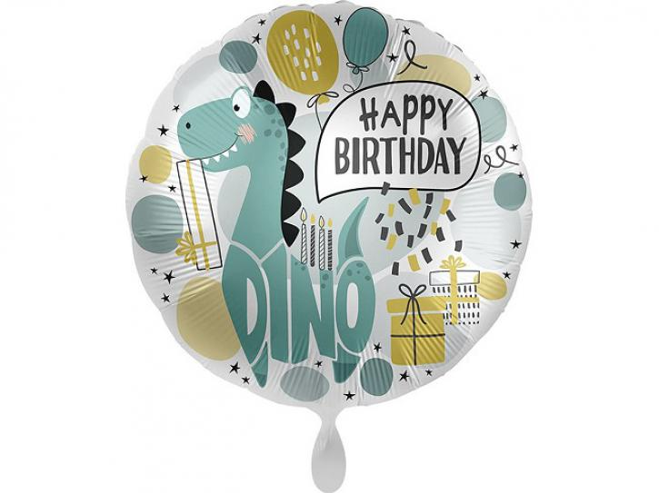 Folienballon Cool Dino Party 43 cm