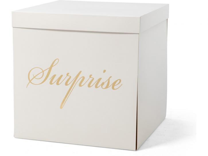 Geschenkbox Verpackungskarton Surprise