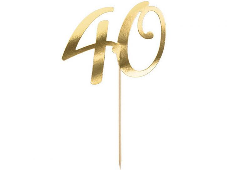 Tortentopper 40 gold