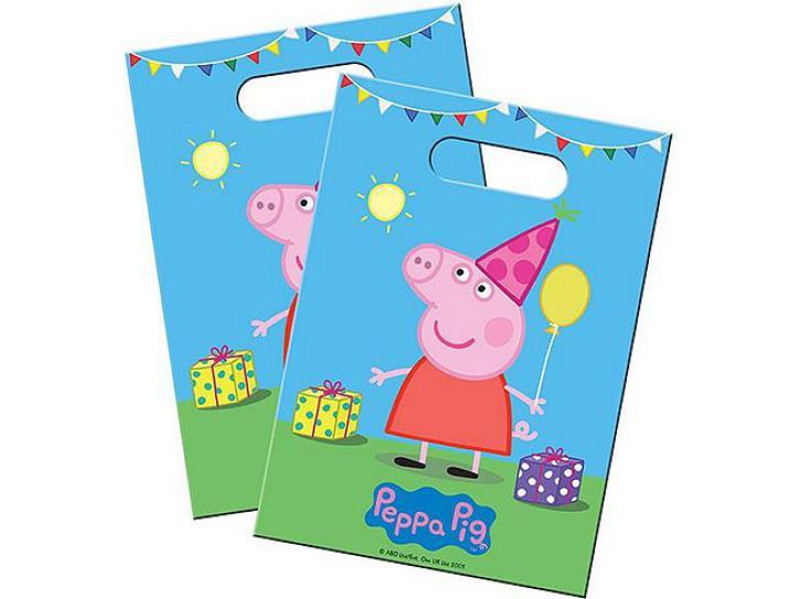 Partytüte Peppa Pig 8 Stk.
