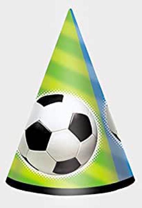 Partyhut Fußball 8 Stk