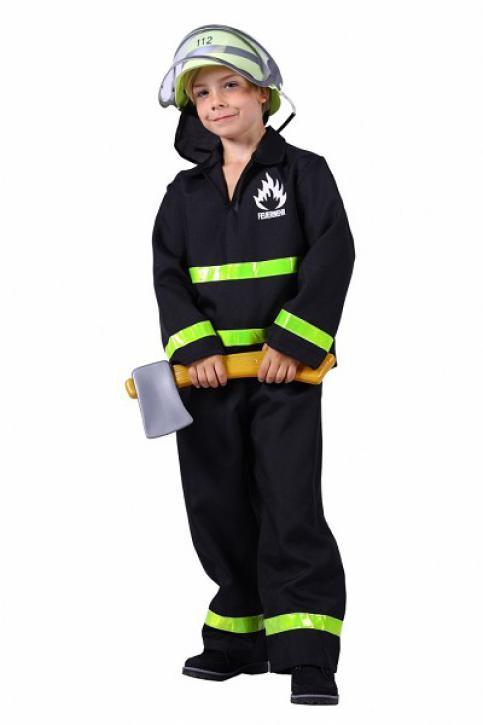 Kostüm Feuerwehrmann Gr. 116-128
