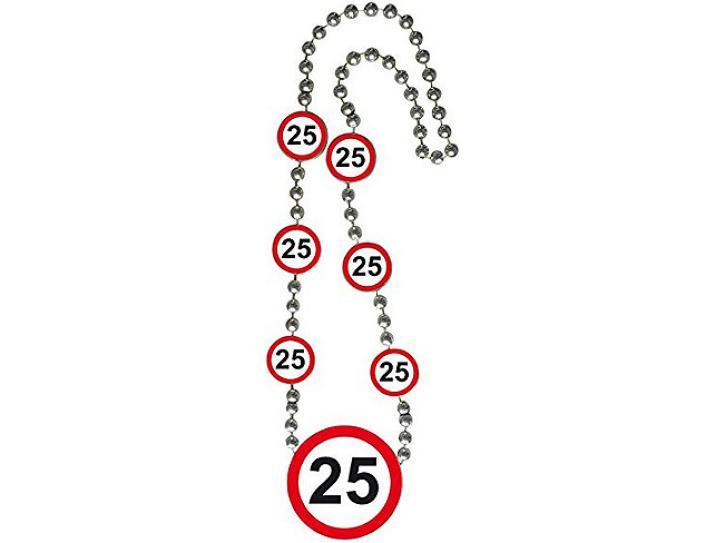 Kette Verkehrsschild 25