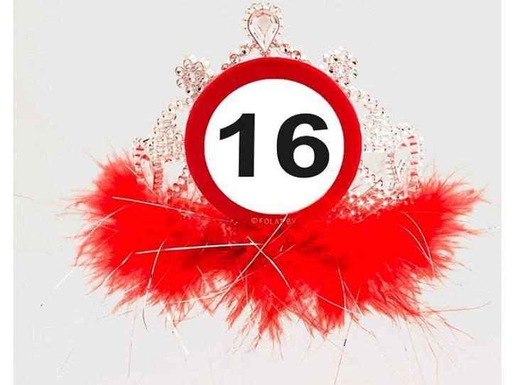 Tiara Verkehrschild 16