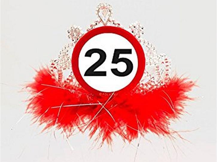 Tiara Verkehrschild 25