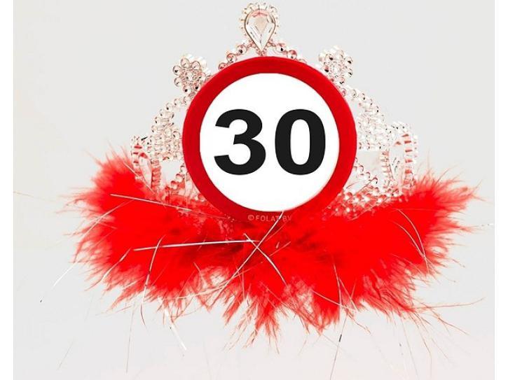 Tiara Verkehrschild 30