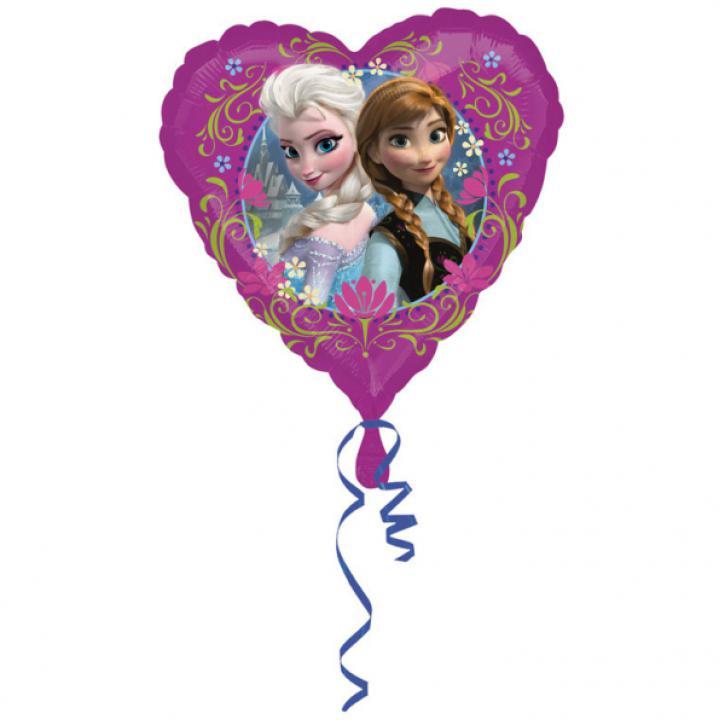 Folienballon Herz Disney Frozen 43cm