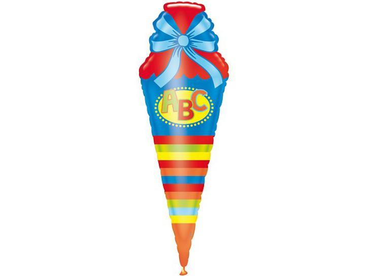 Folienballon Schultüte ABC
