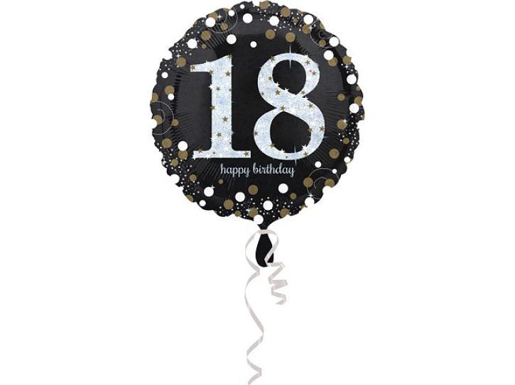 Folienballon 18 celebration