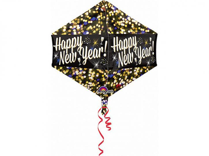 Folienballon Happy New Year
