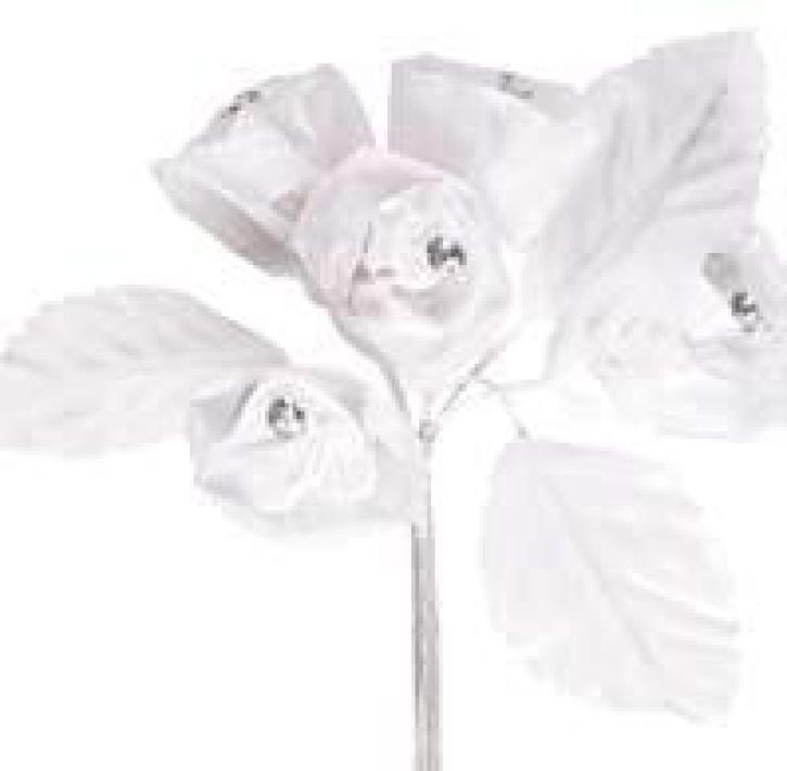 Blumengesteck weiß