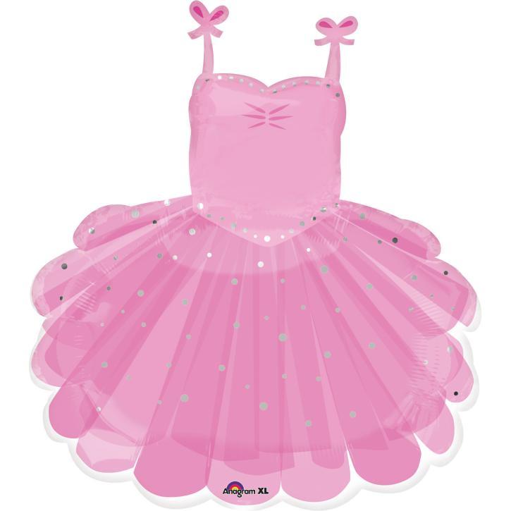 Folienballon Ballerina Tütü