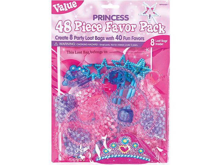 Prinzessinen Set Partygeschenke