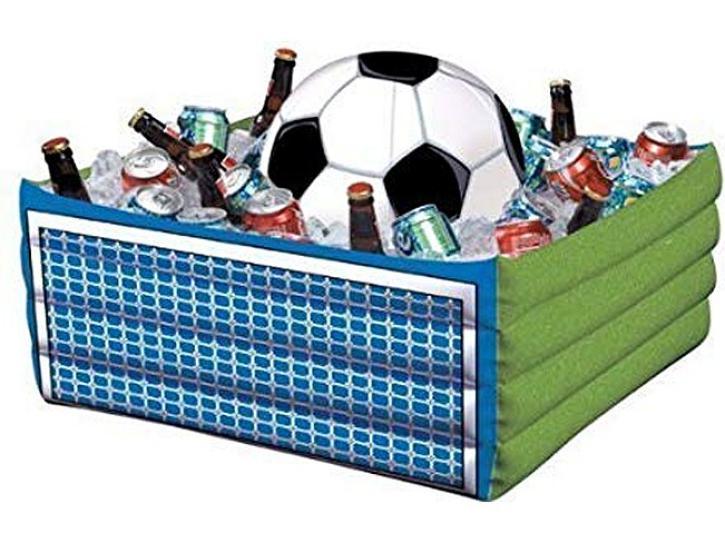 Aufblasbarer Fußball-Pool Getränke kühlend