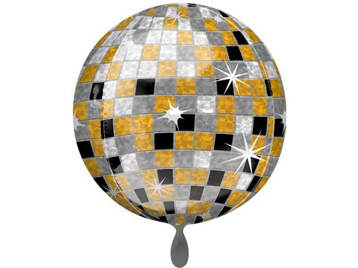 Folienballon ORBZ Disco Ball 15