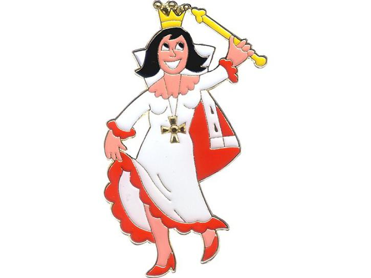 Karnevalspin Prinzessin