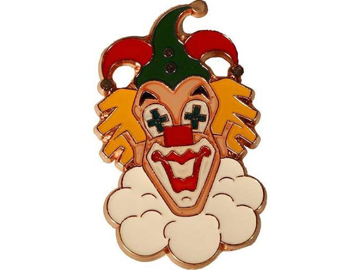 Karnevalspin Clownkopf