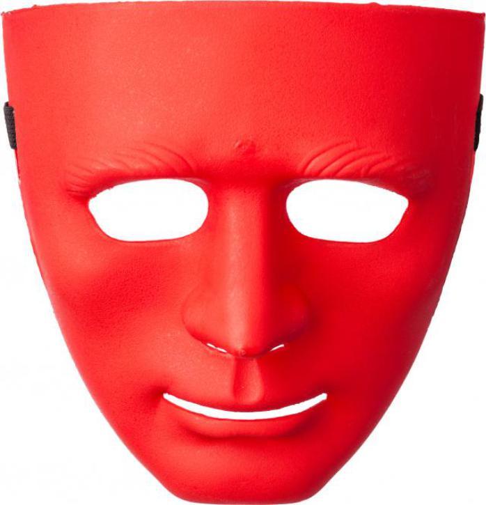 Maske rot Plastik