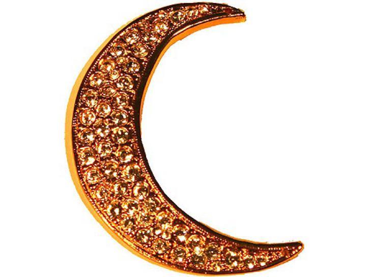 Halbmond - Emblem gold