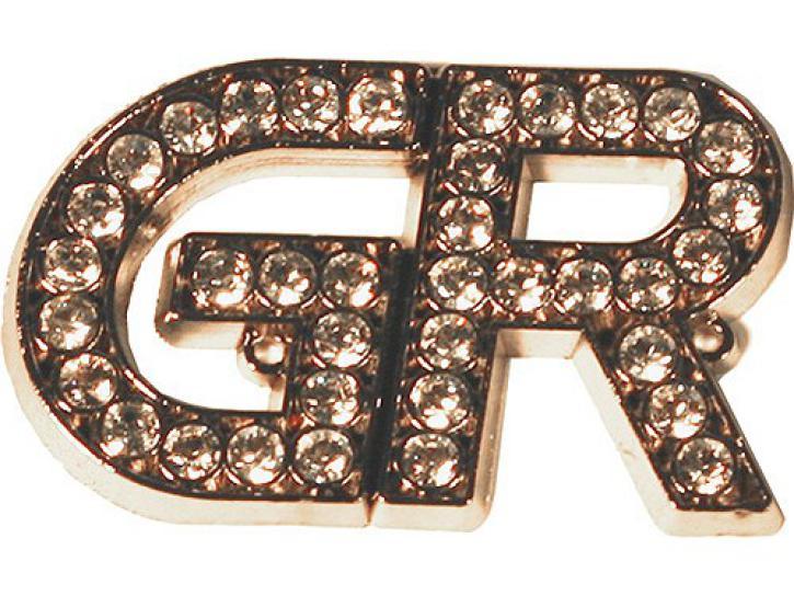Emblem GR silber