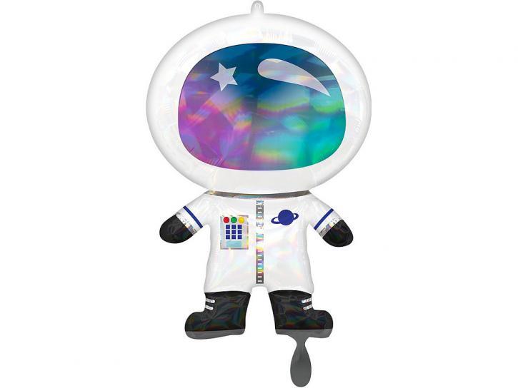 Folienballon Astronaut Space