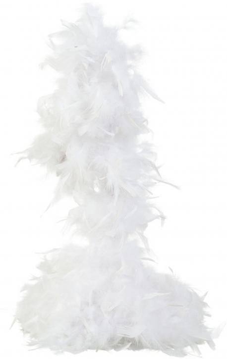 Federboa weiß 180cm