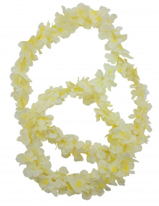 Blumen am Strang weiß