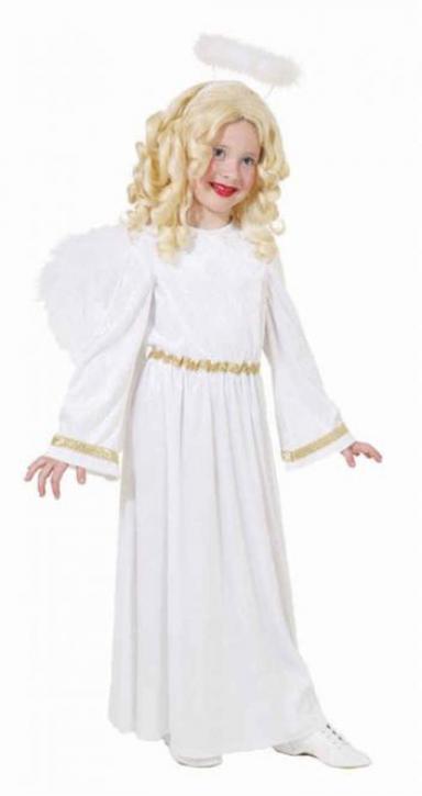 Kostüm Engel weiß/gold Gr. 128