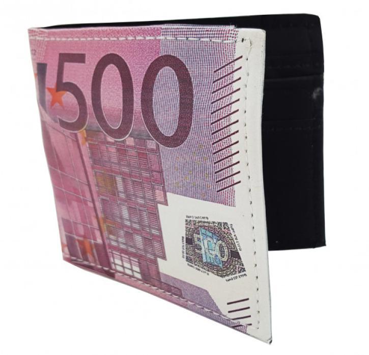 Portmonnaie Euroschein sortiert