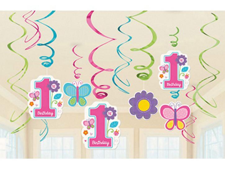 Deko Spiralen 1 Sweet Birthday