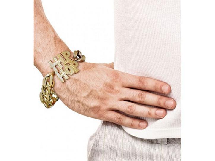 Armband Hip Hop gold