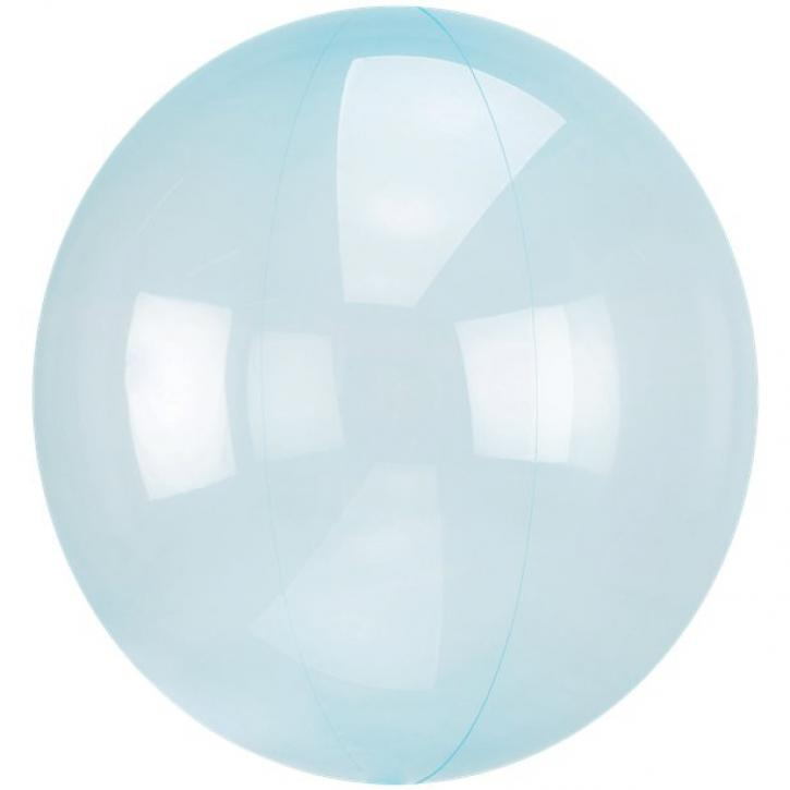 Ballon Bubble blau