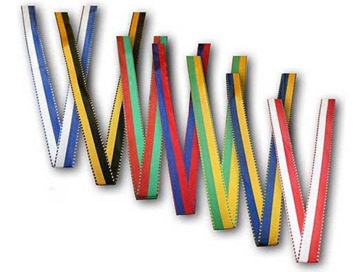 Ripsband blau/gelb