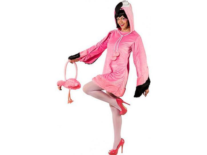 Kostüm Flamingo Gr. 34/36