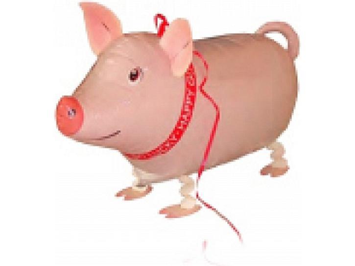 Folienballon Airwalker Schwein