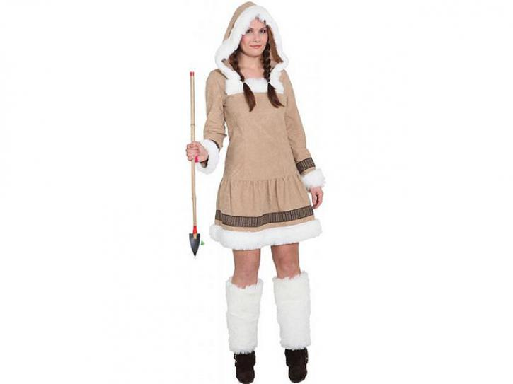 Kostüm Eskimo Girl de Luxe Gr. 46
