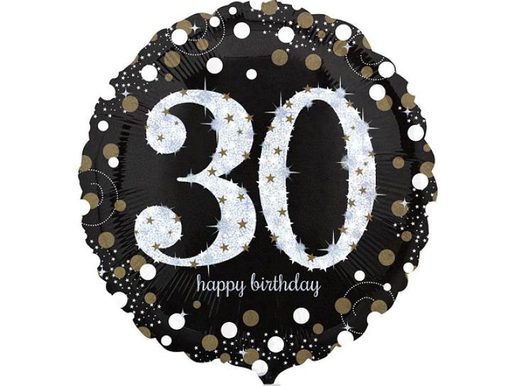 Folienballon 30 celebration