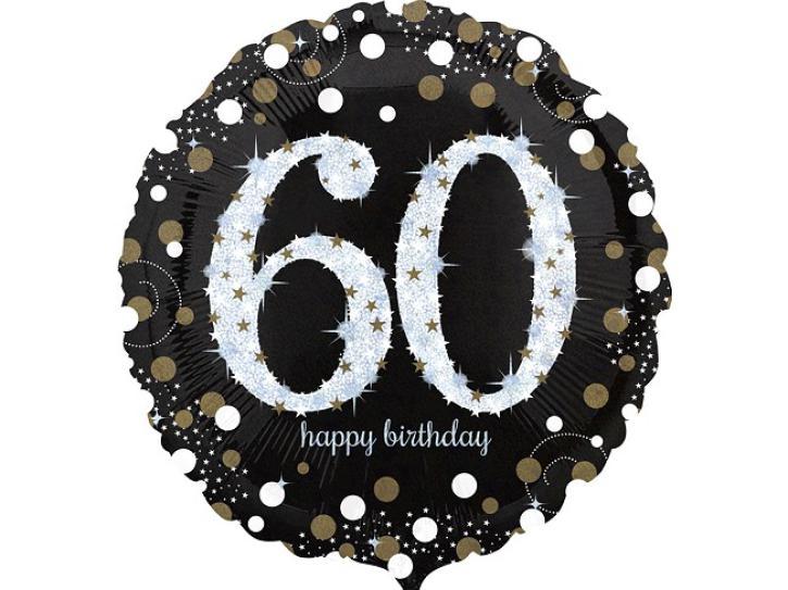 Folienballon 60 celebration