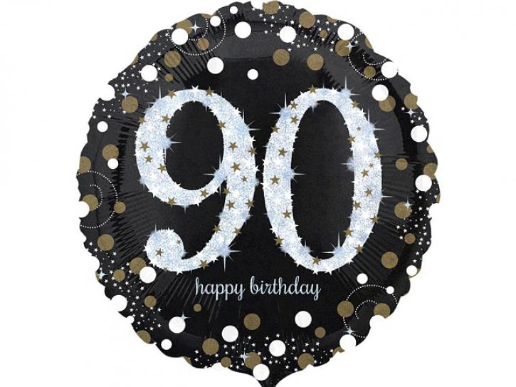 Folienballon 90 celebration