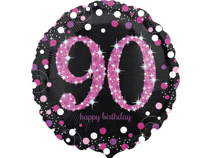 Folienballon 90 pink celebration