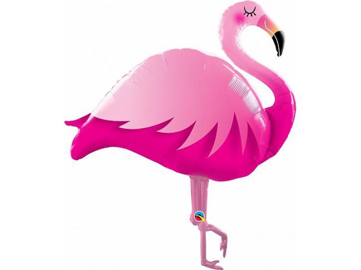 Folienballon Flamingo 117 cm